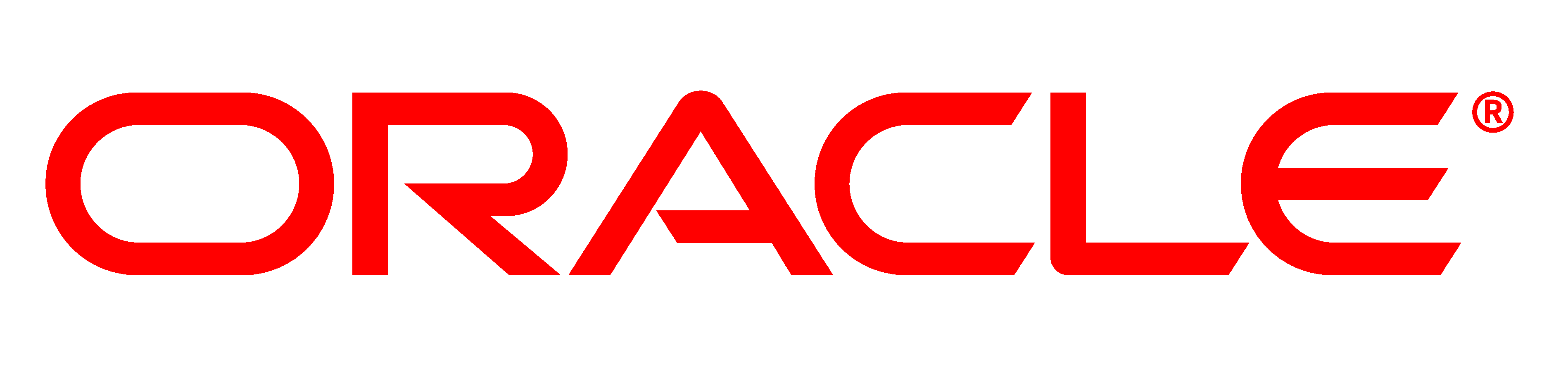 A business logo of Oracle