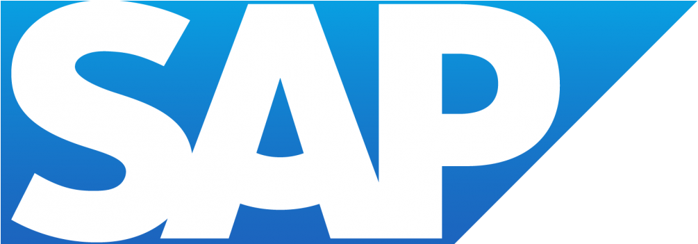 A business logo of SAP