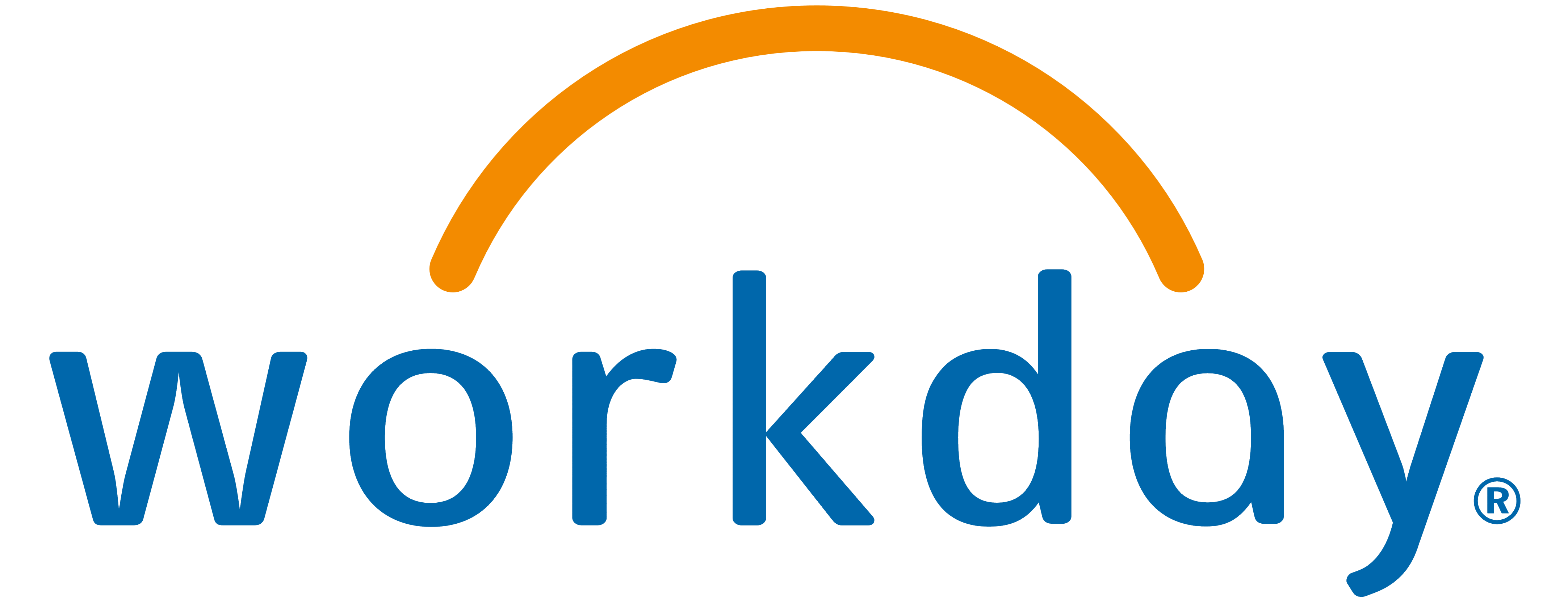 A business logo of a HR application 'Workday' that virtual accounting company Tickmarks supports.